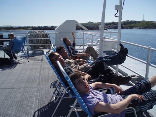 Ferry: Moskenes - Bodø