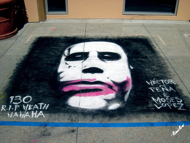 R.I.P. Heath Ledger by Emily Stanchfield