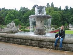 fountain, rose garden, Lichtentaler Allee, Baden-Baden (crustaceangirl) Tags: fountain badenbaden allee lichtentaler