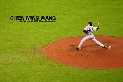 Chien-Ming Wang 8th Win!!
