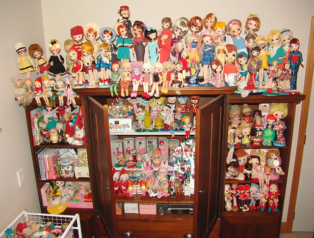 Vintage Japan Dolly Collection.