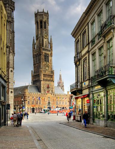 フリー写真素材, 建築・建造物, 都市・街, 世界遺産, ベルギー, ブルッヘ, HDR,