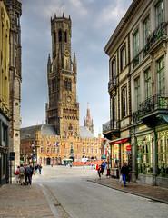 [フリー画像] 建築・建造物, 都市・街, 世界遺産, ベルギー, ブルッヘ, HDR, 201005020100