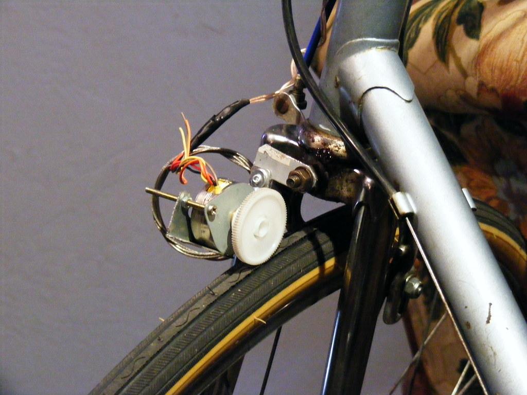 Prototype bike-light generator