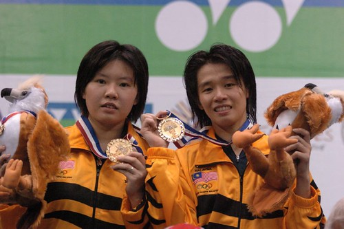 Wong Pei Tty / Chin Eei Hui Runner Up In SCG THAILAND GRAND PRIX GOLD 2008