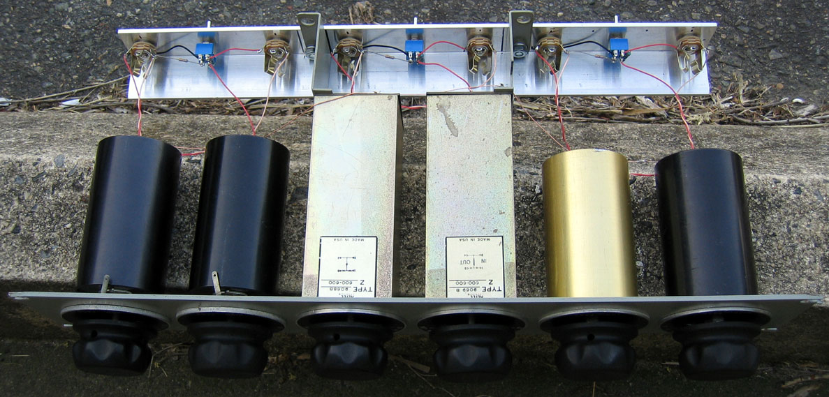 Altec and Langevin high-pass/ low-pass filter sets