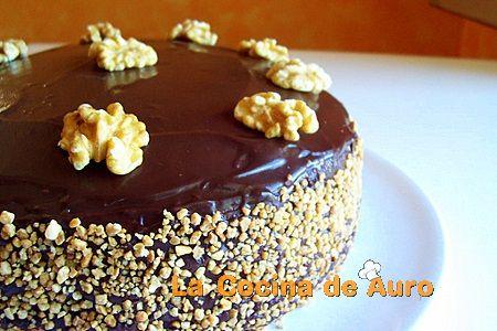 tarta delicia de chocolate y lemon curd