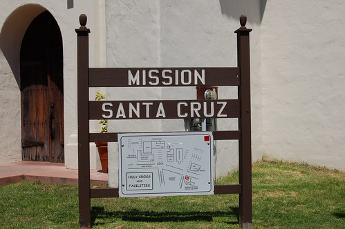 Discovering Mission Santa Cruz California