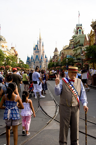 the mayor of Disney World