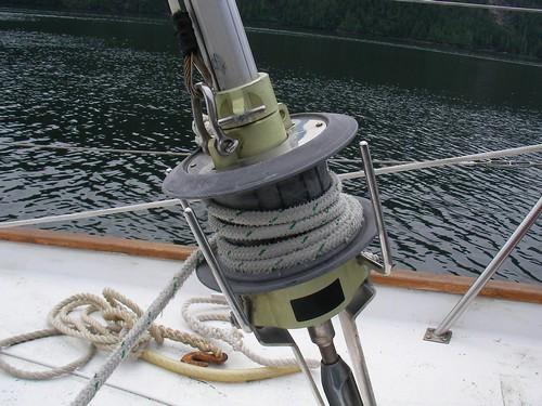 Staysail furler