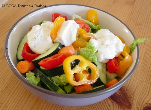 Greek Yogurt Peppercorn Ranch Dressing