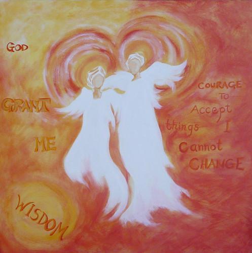 Angels - God grant me wisdom..