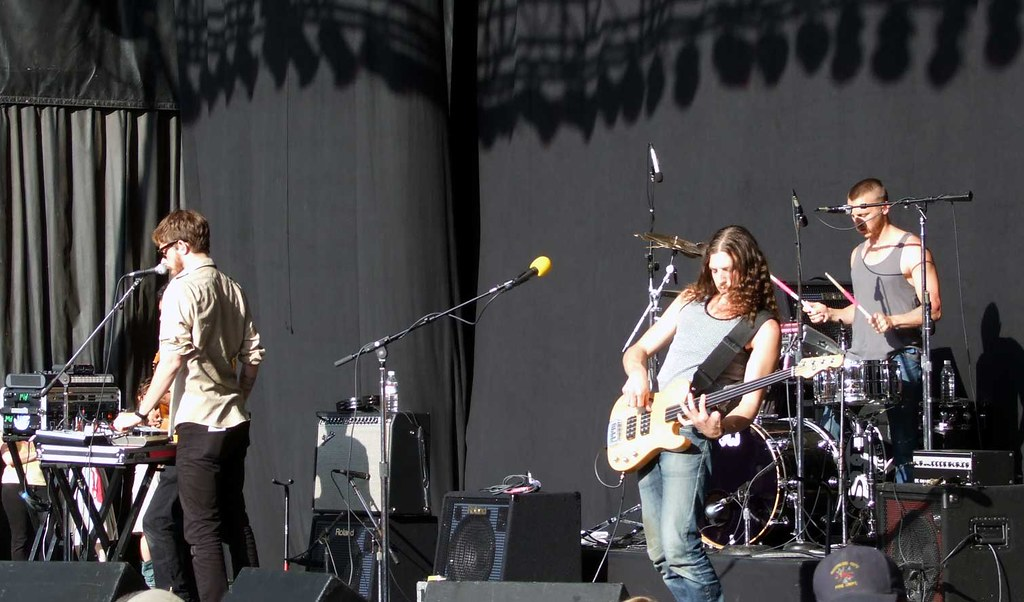 Yeasayer @ Download 2008
