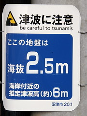 tsunami warning: Be careful to tsunamis #1583