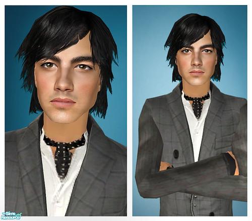Joe Jonas As A Sim! by Amy Loves Nick :D.