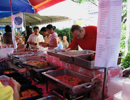 Salcedo Market - French food