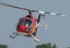Red Bull Stunt Helicopter EAA Airventure 2008 Oshkosh