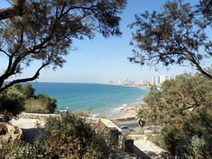 Old Jaffa (Yafo) with a view to Tel Aviv