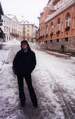 Alpes 285 - Caminhando na neve