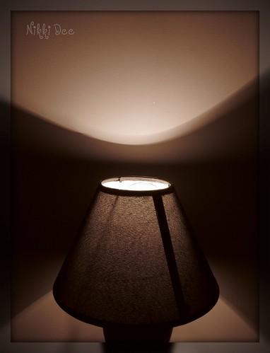 Sepia lamp