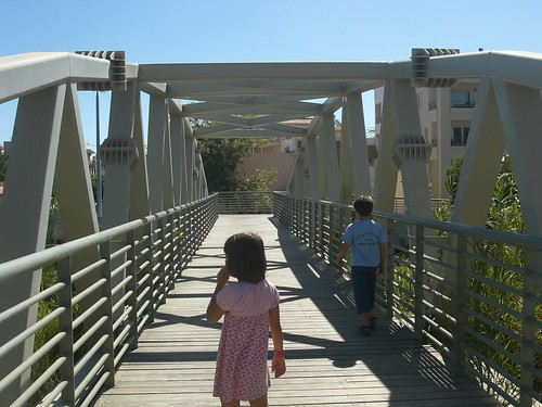 footbridge nea hora hania chania