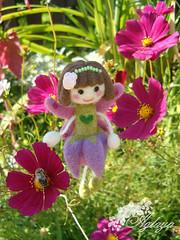 Heather (Aglayowo) Tags: felting felt fairy needlefelting filz nadelfilz needlefalting