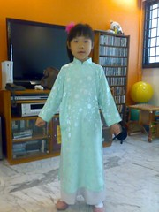 Faith dressed up for National Day