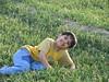 boy on the farm (shahram naghipour) Tags: boy portrait green smile face kid iran farm son cultivation liedown blueyellow persianboy khashayar dilomar08 springboy