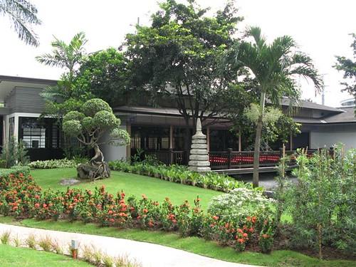 Dusit Thani gardens