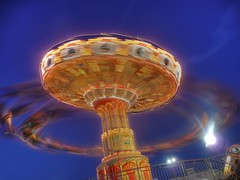 whirling people machine
