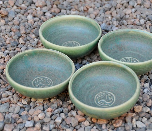 Dipping bowls by RedHotPottery