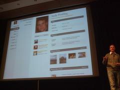 WordCamp 2008 での BuddyPress プレゼン