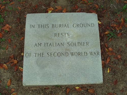 Italian POW Cemetery at Ft. Gordon