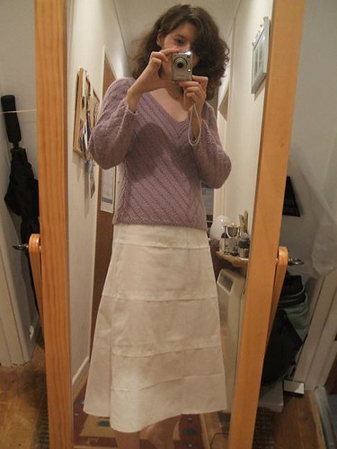 Barcelona layered skirt muslin