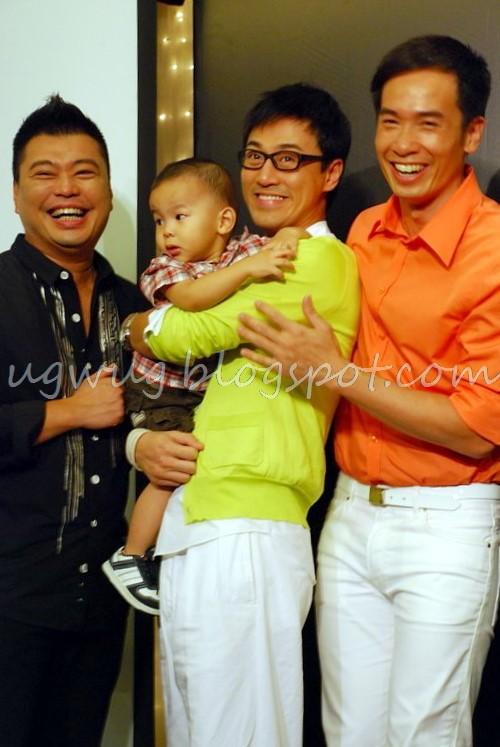 Louis Yuen, Raymond Lam, Moses Chan - 3 Men & A Baby