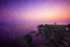 Sunset Fantasy (Khaled A.K) Tags: sunset sea sky texture photography rocks southern corniche sa jeddah saudiarabia khaled ksa saudia aplusphoto kashkari goldenvisions