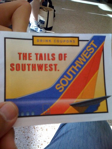 Southwest free drink coupons