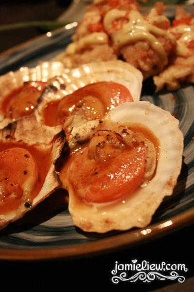 half shell scallop