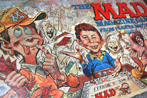 mad magazine box cover
