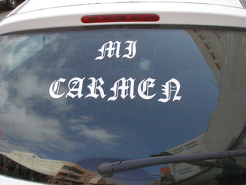 Lo que quiero yo a mi Carmen...