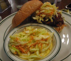 pulled pork sandwich @the nickel