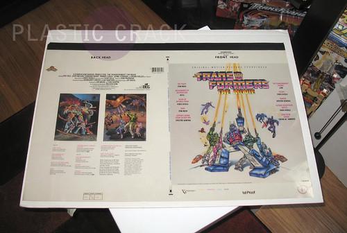 TF The Movie Soundtrack Album cover proof specs