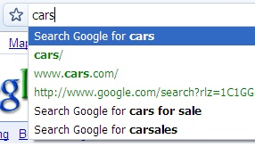 Address Bar Searching