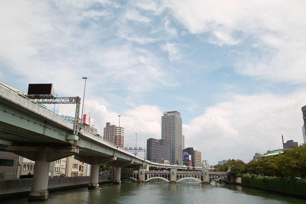 Dojima river and Hanshin Expressway