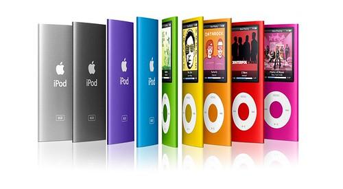 iPod Nano 4G 8 colores