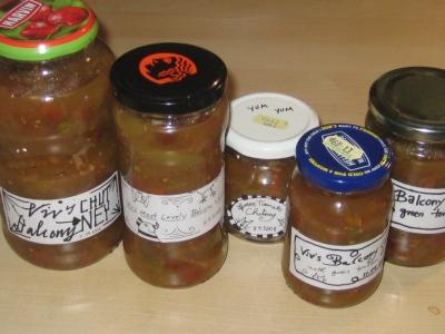 Chutney Jars