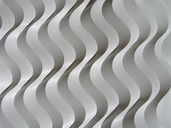curved offset 02 (polyscene) Tags: shadow sculpture white art geometric plane paper design 3d origami pattern bass low craft surface plastic relief polly folded fold curve curved poly bas score crease tessellation surfaces robo basrelief curvature verity threedimensional polypropylene onesheet lowrelief bassrelief nocuts developable polyscene pollyverity developablesurface curvedfold 3dpattern foldedcurves 3dsurface 3dtilepattern 3dfoldedpattern 3dlowreliefpattern foldedpattern foldedtessellation sculpturalsurfaces foldedcurve