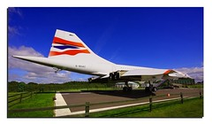 Concorde Pride & Glory (Mike926.) Tags: sky manchester airport aircraft air jet concorde greatshot supersonic viewingpark mikederby