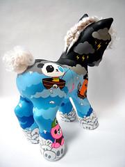 PONY (TADO DEATH BRIGADE) Tags: newyork painting girly custom hasbro mlp mylittlepony tado porksatsea ponyproject2008