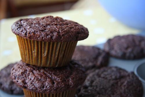 çikolatalı kurabiye muffin 2